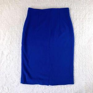 💗 Royal Blue Pencil Skirt 💗